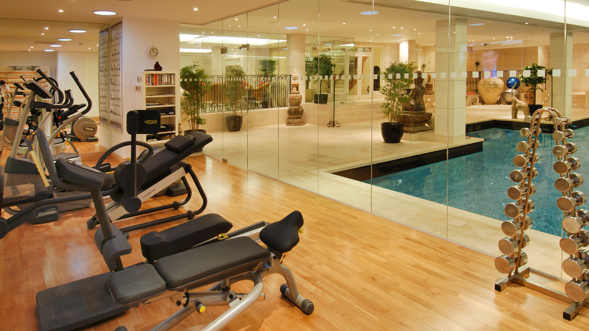Home gyms site london basements