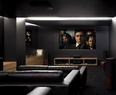 Basement Conversion Home Cinema 01